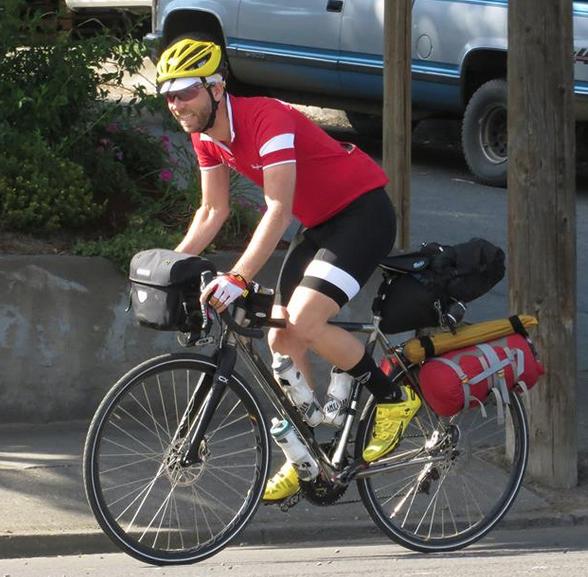 Matt Roy riding