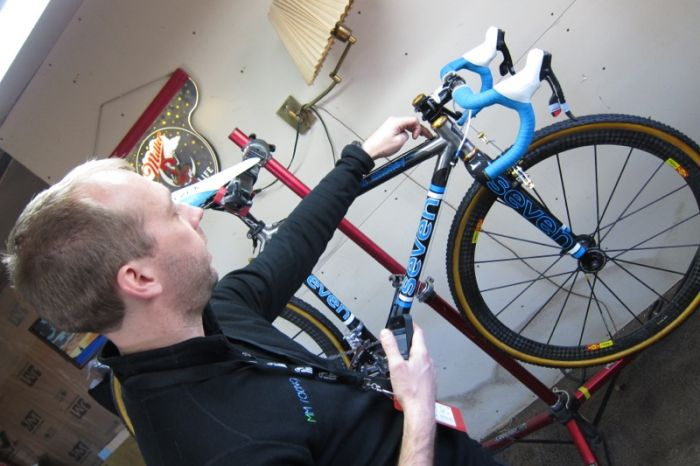 Matt is a professional mechanic working for pro teams in the past and has maintained Mo's bikes throughout her demanding cyclocross career.