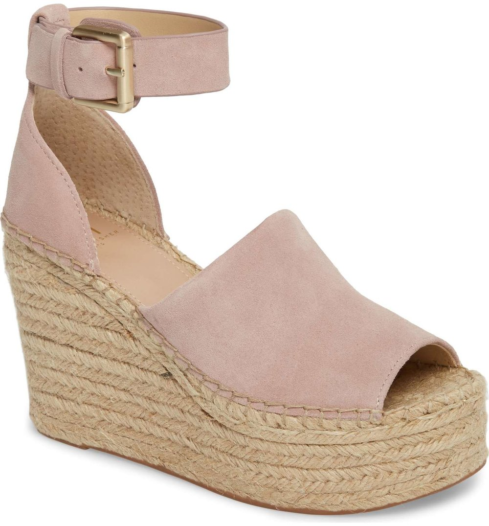 Marc Fisher LTD Espadrille Wedge Sandal  | $159