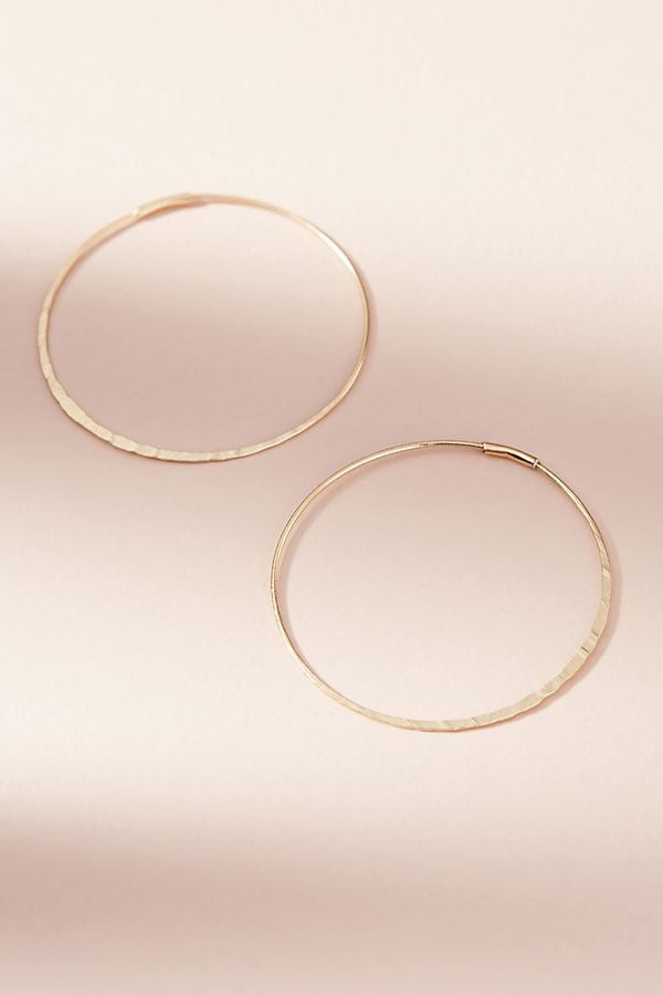 Isabel Hoop Earrings in Gold | $32