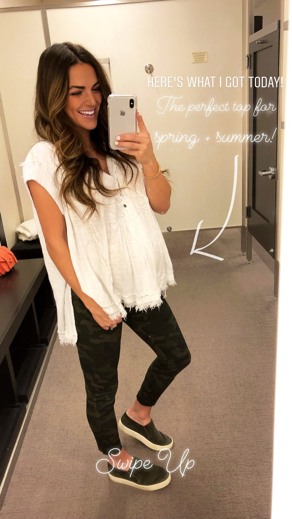 Free People Henley Top  | $68 (5 other colors  here )