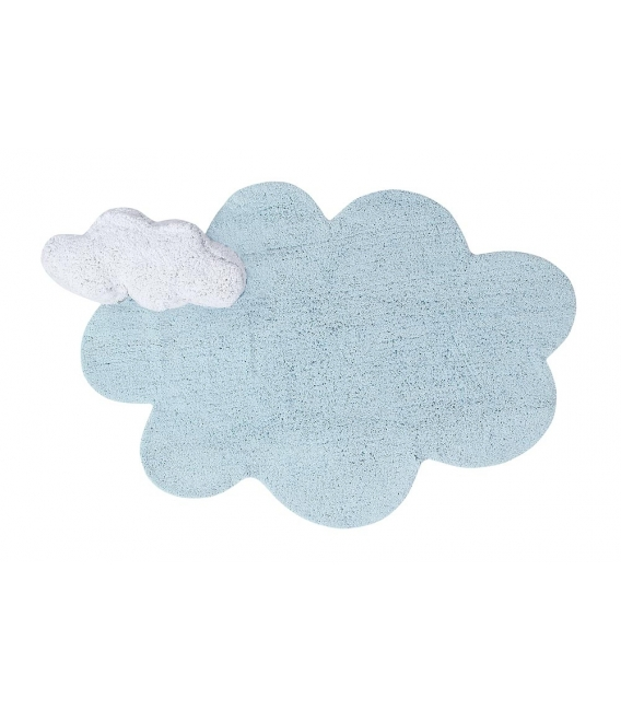 Lorena Canals Puffy Dream Blue Washable Rug  | $215