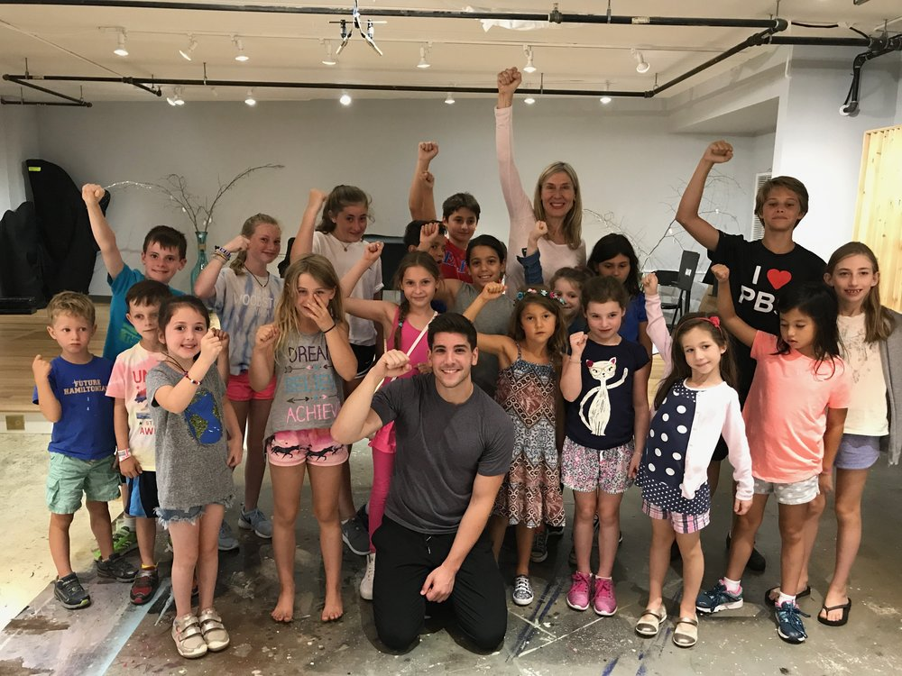 ThearerCamp 4 Kids! with Broadway's Adam Kaplan, star of Newsies, Kinky Boots and now working with Idina Menzel!