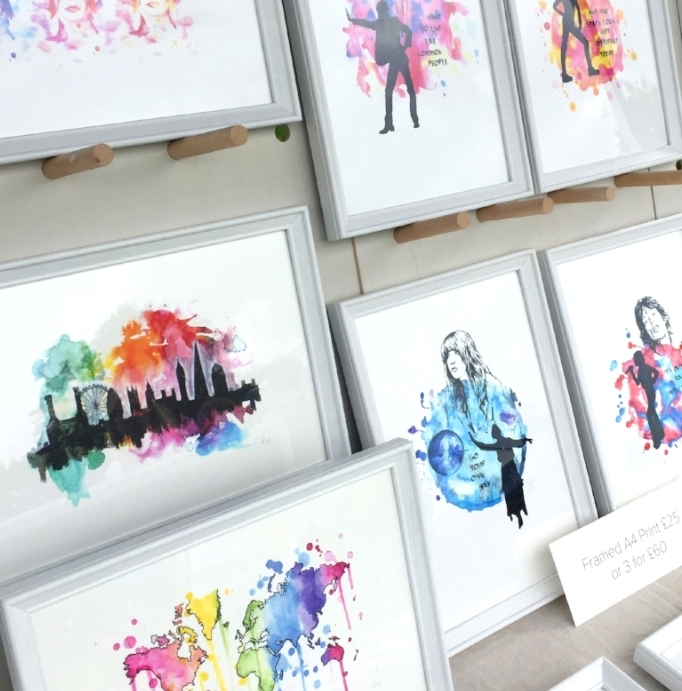 Drawn Together Art Craft Fair market Stall Set Up Tips