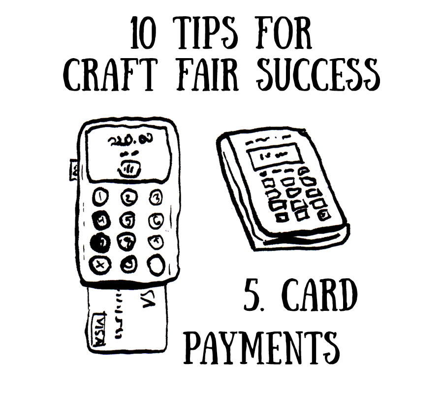 Drawn Together Craft Fair Success Card Payment izettle PayPal