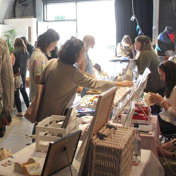 Drawn Together Art Collective Art Prints Christmas Craft Fair London