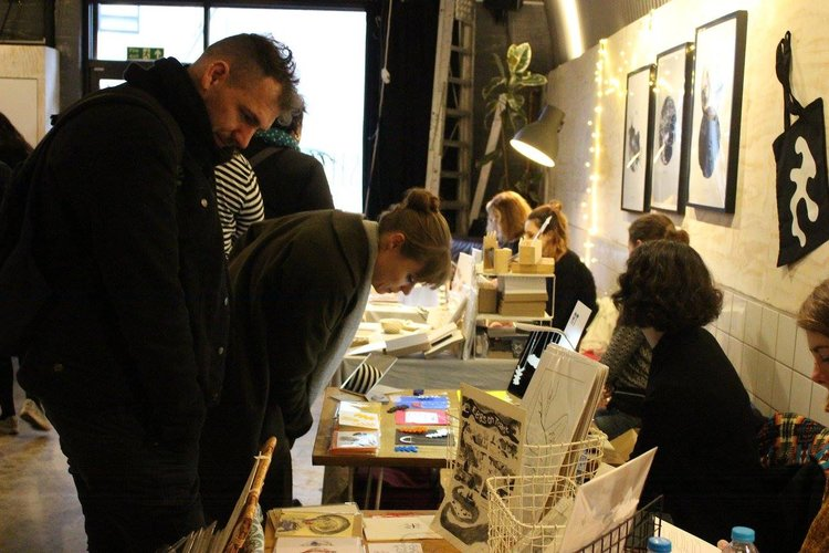 Drawn Together Art Collective Art Prints Craft Fair London Christmas