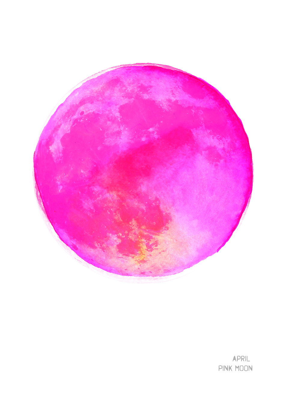 April Pink Moon Art Print Drawn Together Art Collective Shop.jpg