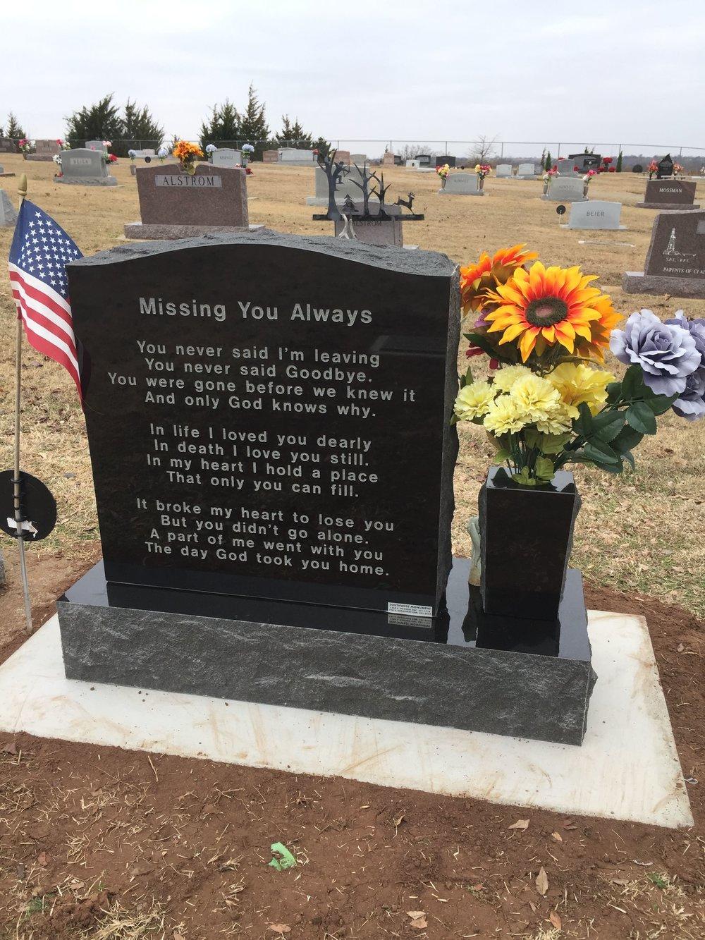 40. Gracehill Cemetery, Perry, OK