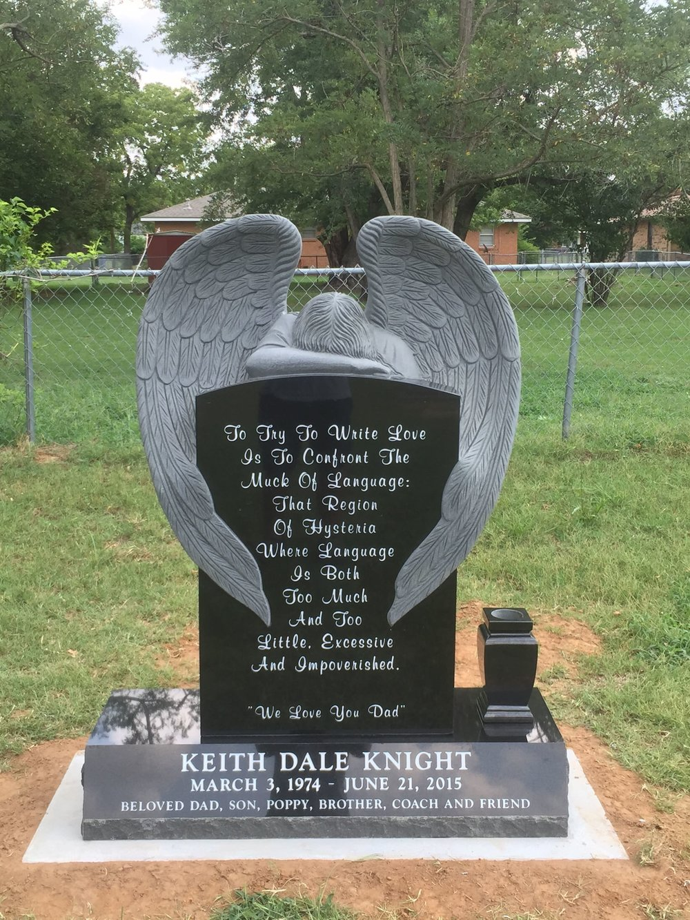 74. Memory Lane Cemetery, Harrah