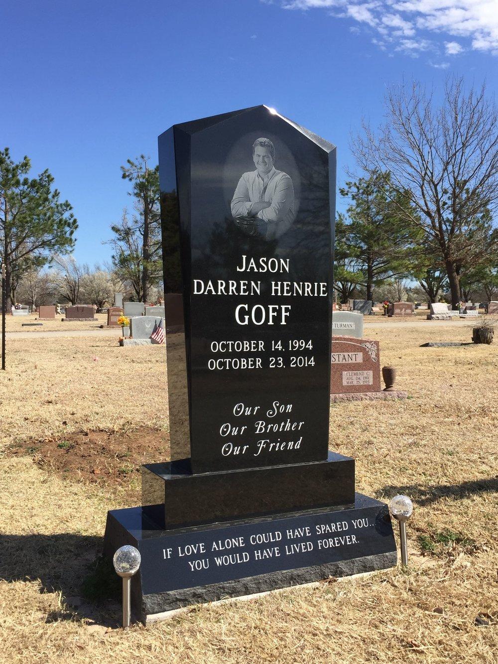 7. Gracelawn Cemetery, Edmond Oklahoma