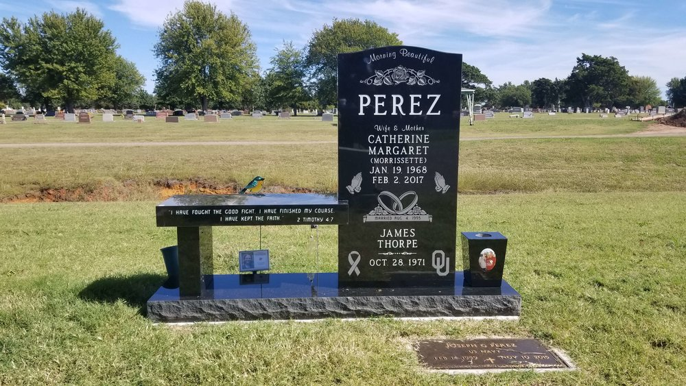 8. Gracelawn Cemetery, Edmond