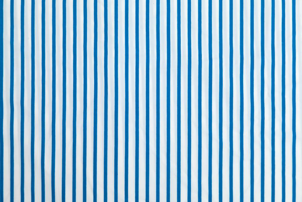 Blue & White Stripe
