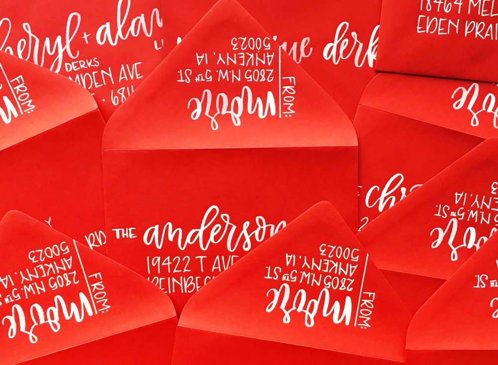 CUSTOM ENVELOPES | ALEXANDRA EM.