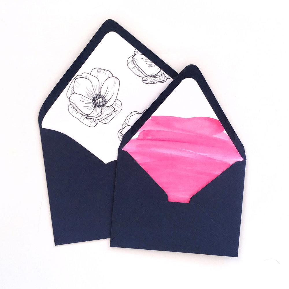 Custom Envelope Liners