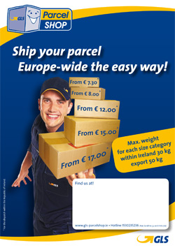 Ship your parcel europe wide