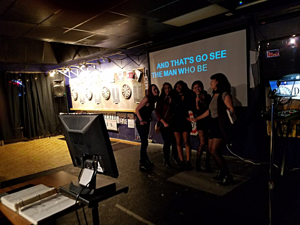 Karaoke Fun At Dog's Breath Tavern