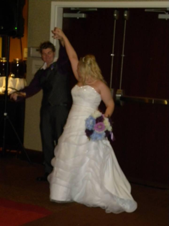 Amanda & Michelle Wedding Grand Entrance