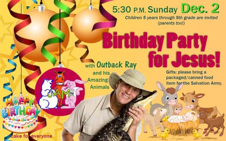 Birthday Party For Jesus The Chapel In Marlboro