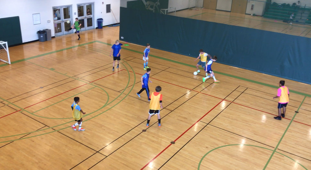 Between the fall and spring seasons, RKSoccertraining offers a 8-week indoor futsal program from ages 7 to 14. Futsal is the Brazilian style of indoor soccer played with a weighted ball with smaller numbers and focuses on individual/small-team play. It's fast-paced and helps players develop a high level of ball control due to the nature of the game.  To Register: Contact Rui Miranda @ 321-356-8278   www.rksoccertraining.com