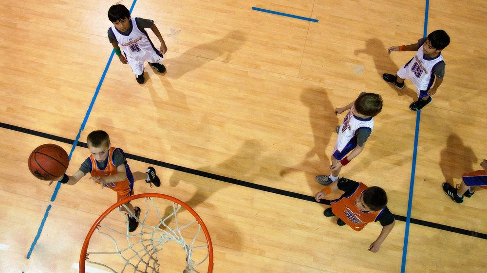 Upwards Basketball Games