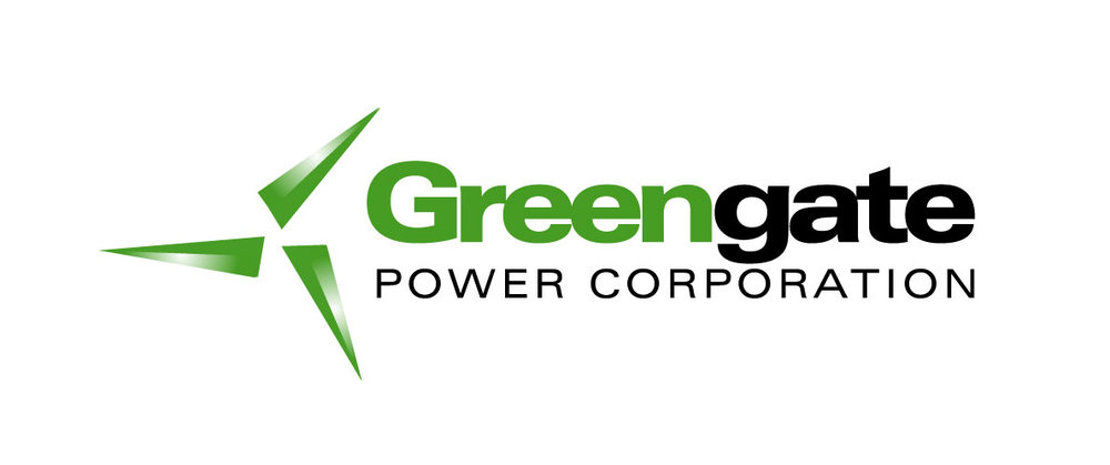 Greengate Power Greengate Power develops wind farms in Canada. The company has 450 MW of power projects contracted to supply wind power to PG&E.