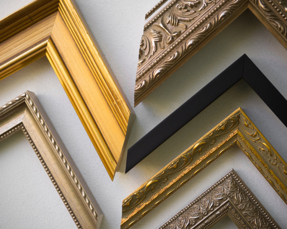 Ready for your walls  We offer custom matting and framing to all of our clients. Any print can be ready to hang on the wall when it leaves our studio to go to your home. Come browse our wide selection of matts and frames, and have our framing specialist point you in the right direction.