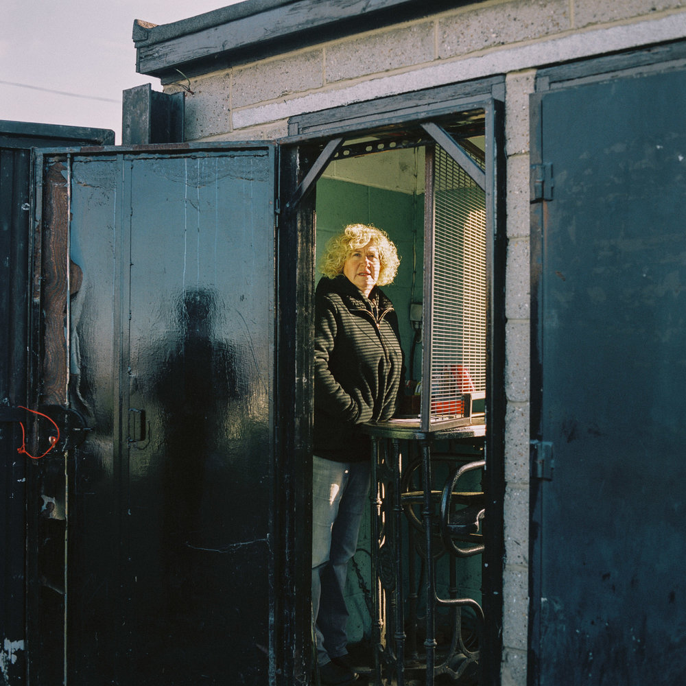 The ticket seller at Tilbury FC