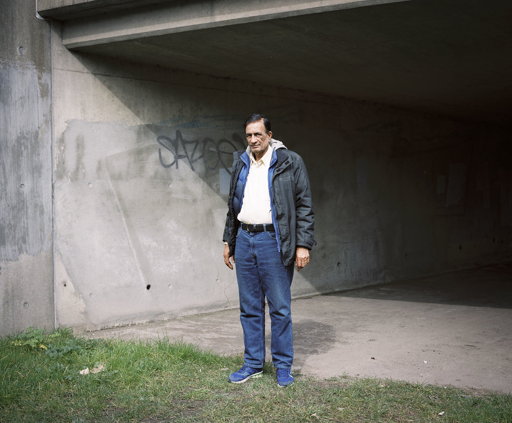 Cheema, under the M4.