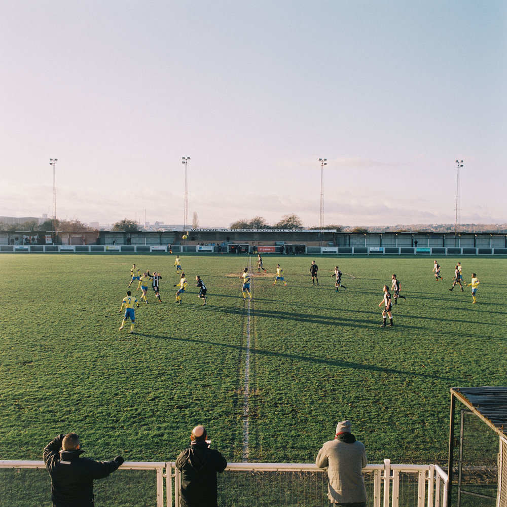 Tilbury Town FC play against Haringey Borough FC at Chadfields