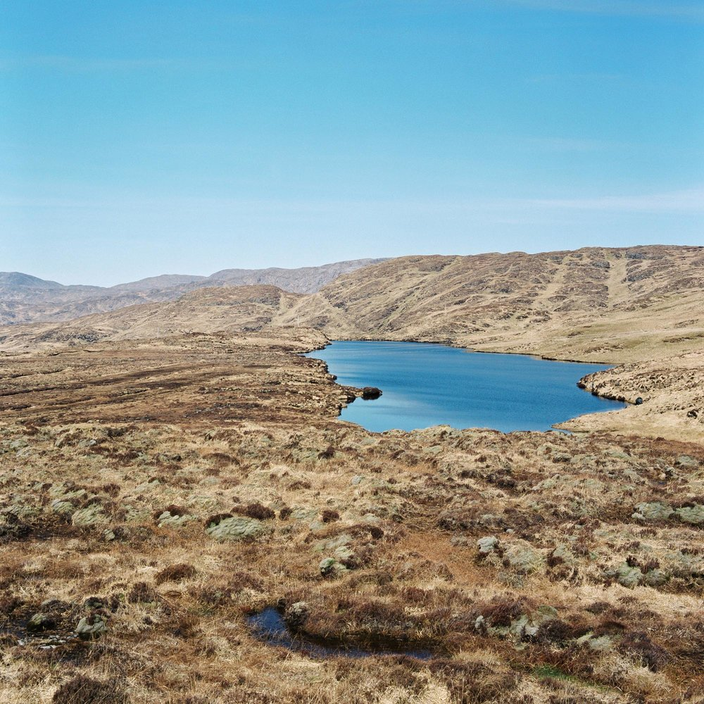 Lough Slug and the County Donegal countryside