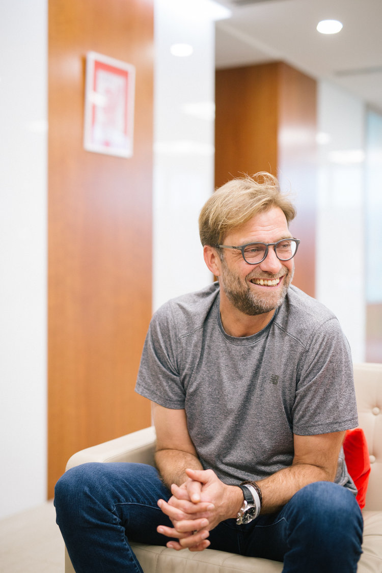 Jürgen Klopp for The New York Times