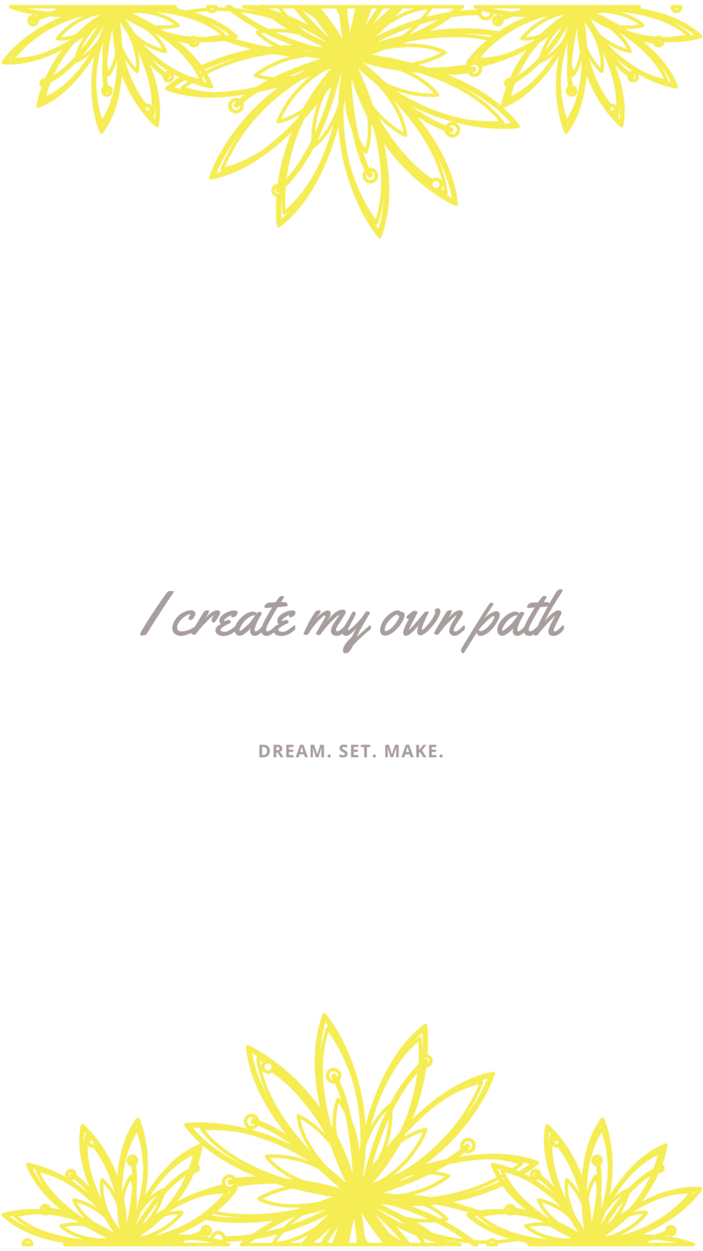 I create my own path.png