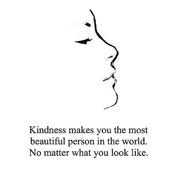 The most beautiful you is the kindest you. 😍 via: @thedandelion