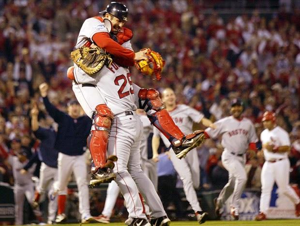 2004 World Series Tek-Foulke Hug.jpg