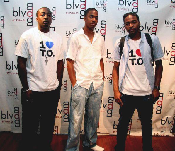 Blake Gabriel (far right)