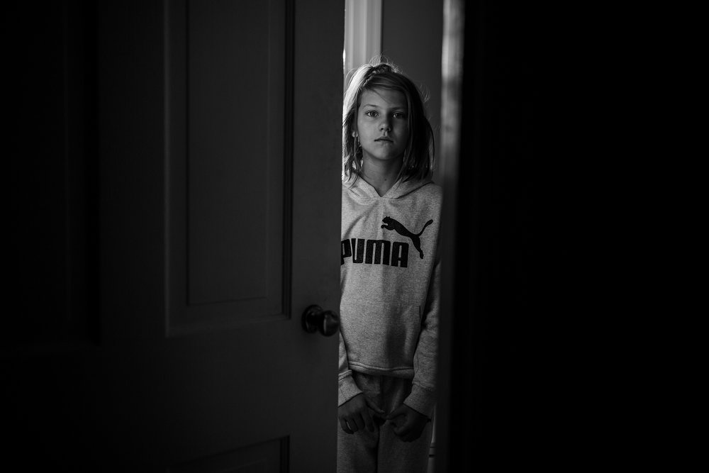 "MONICA HART- ""Her; In A Doorway""  35mm, ISO 200, f/ 2.0, 1/125"