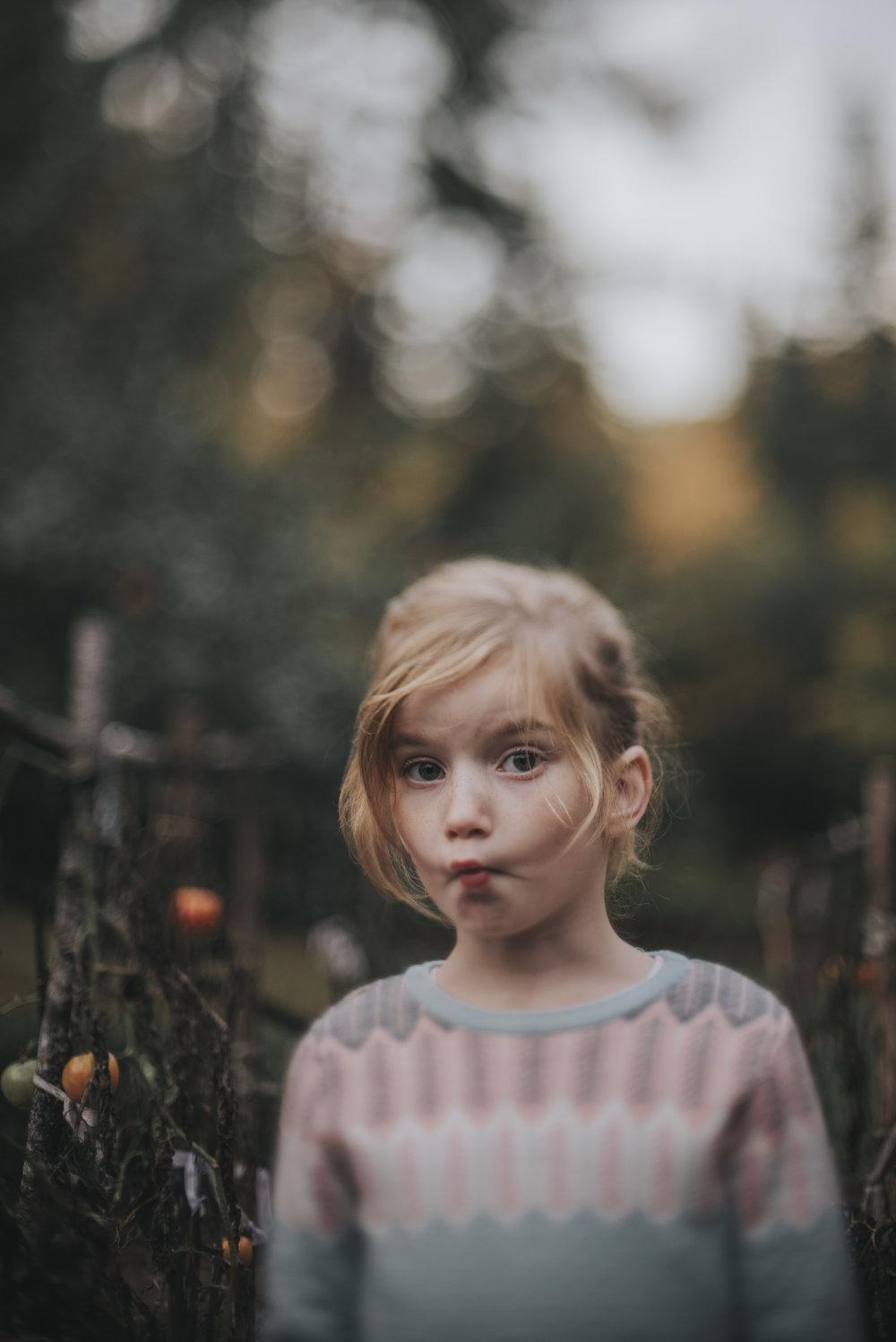 "JONI BURTT - ""The Portrait In-Between""  50mm, freelensed, ISO 125, 1/250"