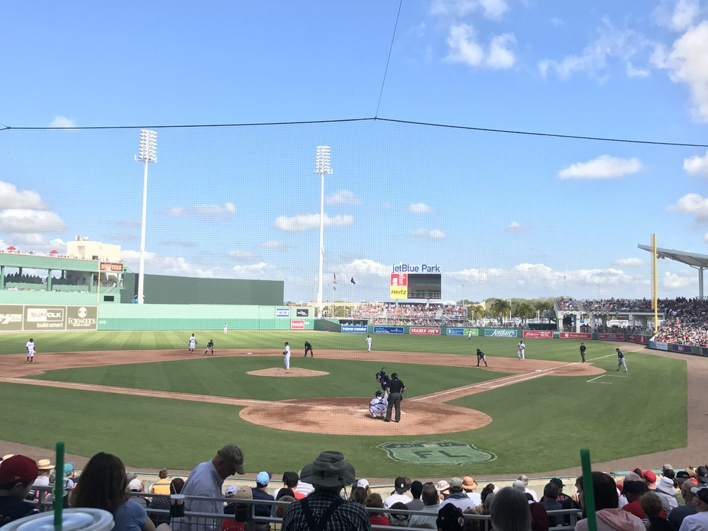 Red Sox Spring Training Game