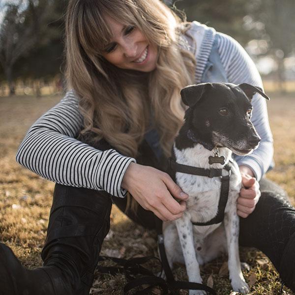 Jenn & Baxter The Dog