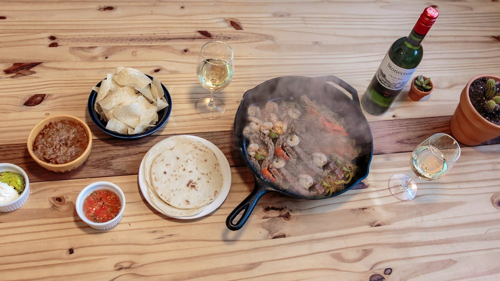 Fajitas and Chenin Blanc