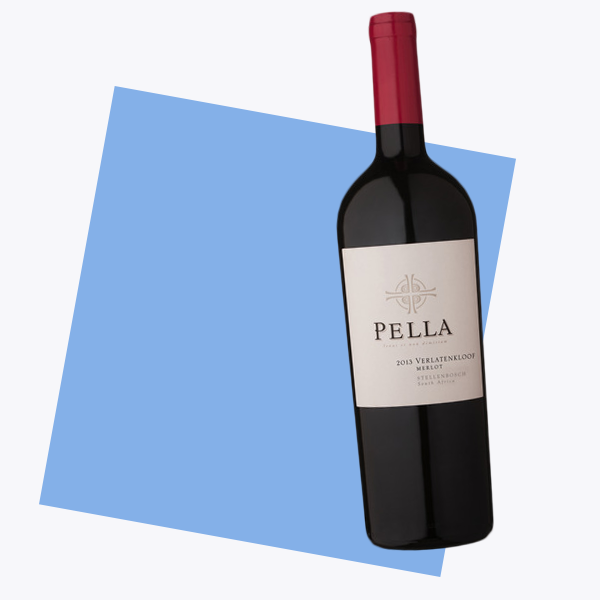 Pella Merlot By Super Single Vineyards Stellenbosch South Africa