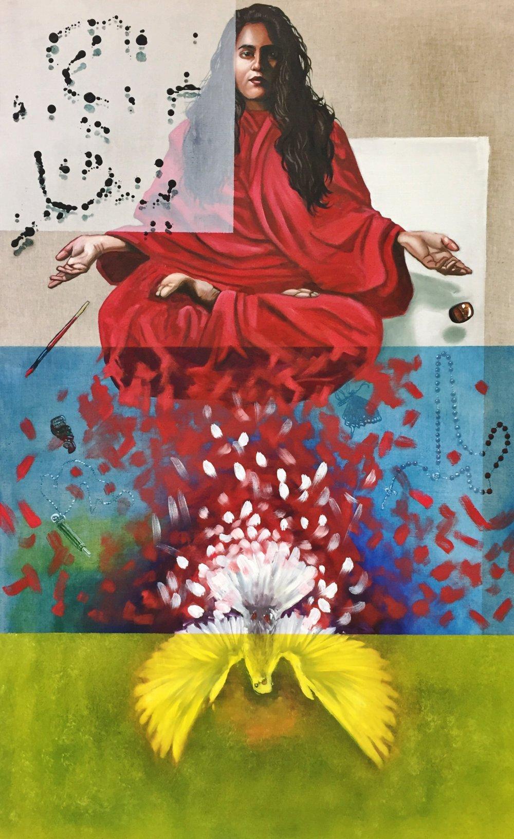 spirituality   150x93cm  oil on linen