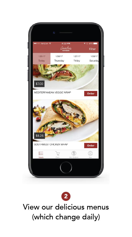 Order delivery s kitchen app