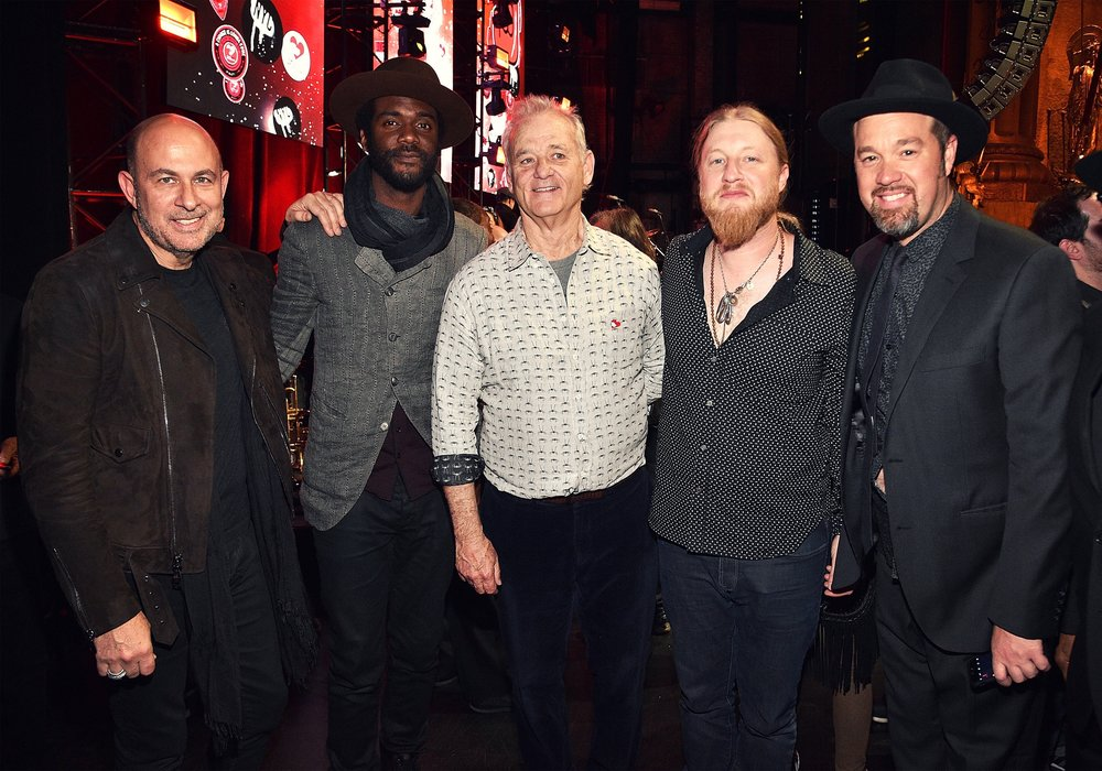 Copy of John Varvatos, Gary Clark Jr., Bill Murray & musicians
