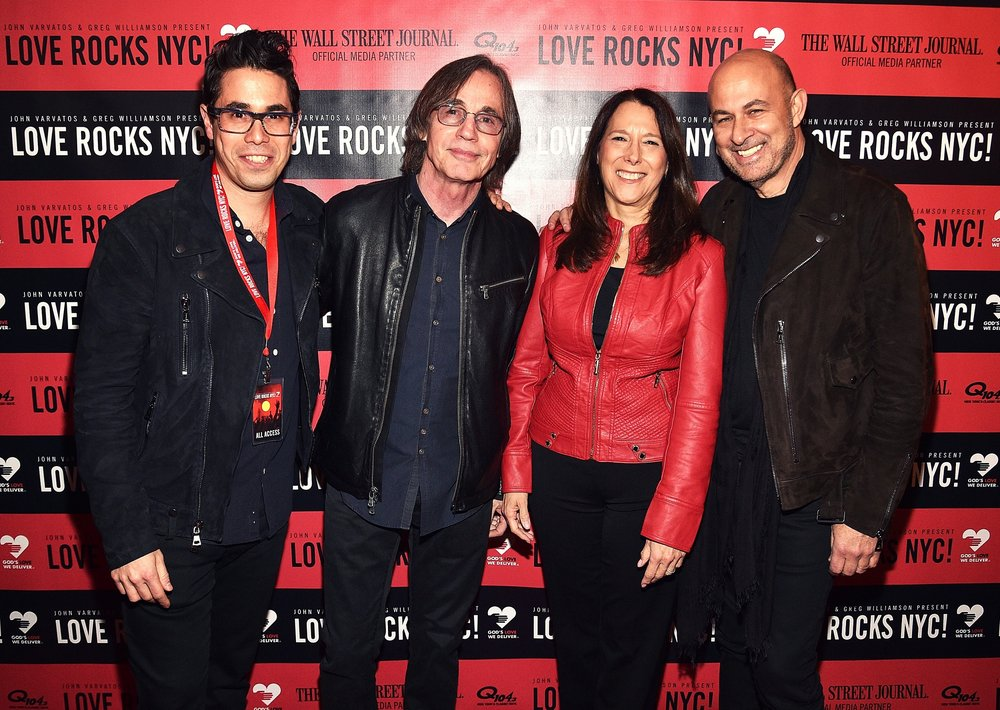 Copy of Greg Williamson, Jackson Browne, Karen Pearl & John Varvatos