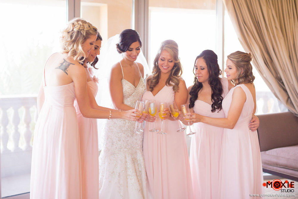 Bridal Party Hair and Makeup Las Vegas