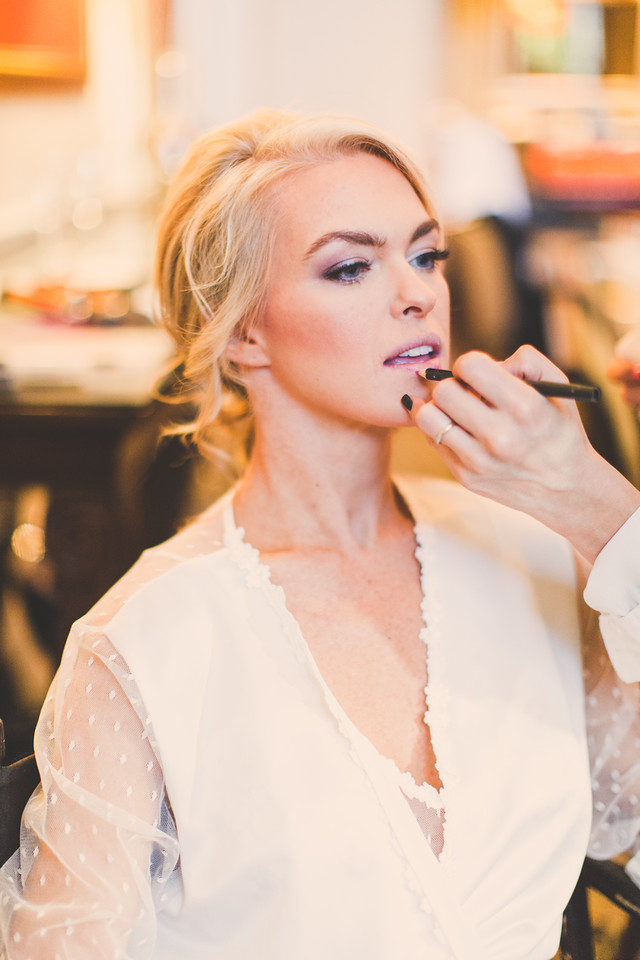 Wedding Makeup at Green Valley Ranch