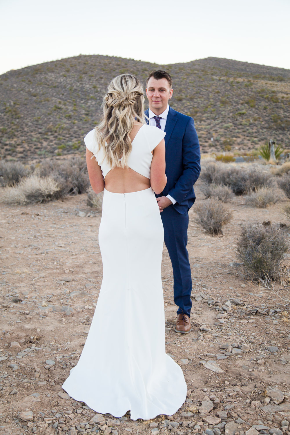 Desert Elopement Wedding