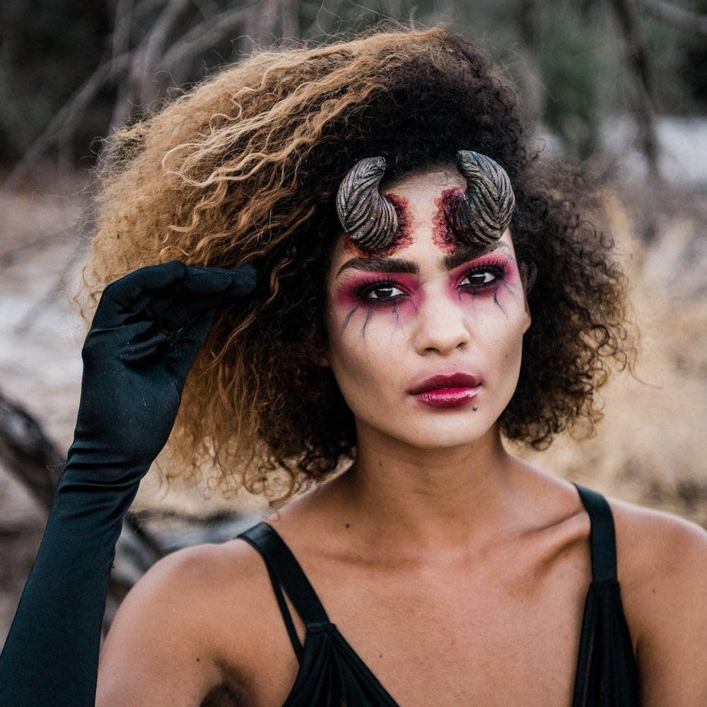 Demon Halloween Makeup Las Vegas